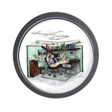 Cubicle Gnome Wall Clock