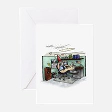 Cubicle Gnome Greeting Cards (Pk of 10)