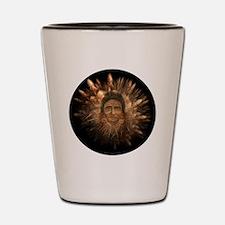 Native American Spirit Shot Glass