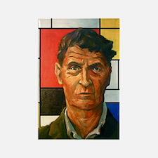 Wittgenstein Rectangle Magnet