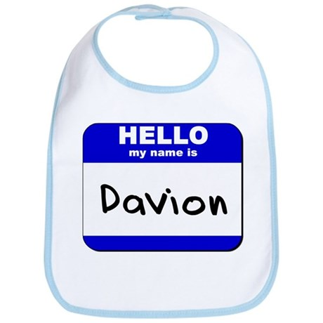 hello my name is davion Bib