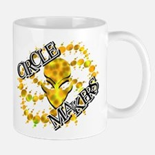 Alien Circle Makers Dark Yellow Mug