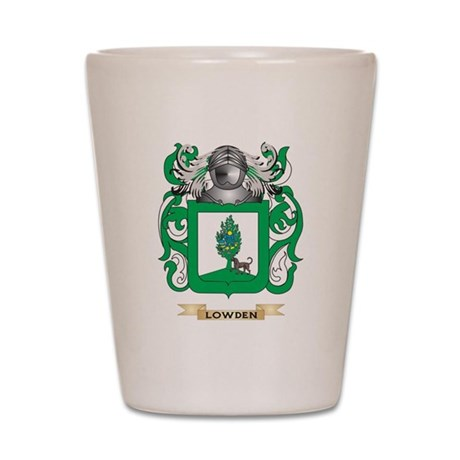 Lowden Coat of Arms - Family Crest Shot Glass