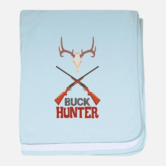 Buck Hunter baby blanket