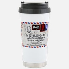 Punk Museum Letter by F Stainless Steel Travel Mug