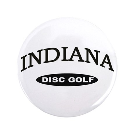 "Indiana Disc Golf 3.5"" Button"