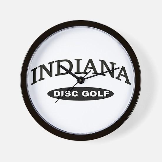Indiana Disc Golf Wall Clock