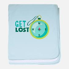get lost baby blanket