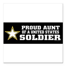 """Military families Square Car Magnet 3"""" x 3"""""""