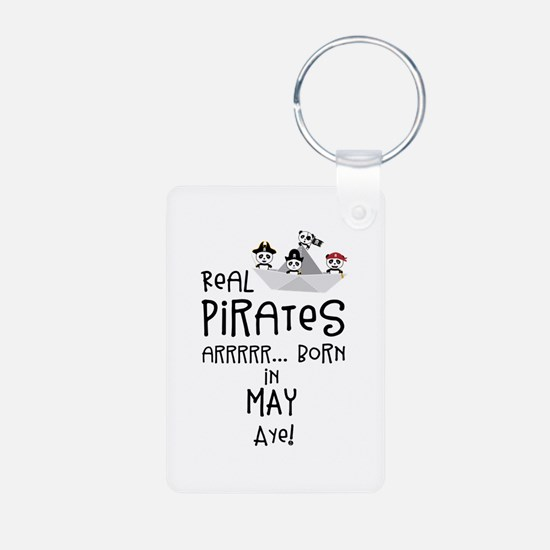 Real Pirates are born in MAY Keychains