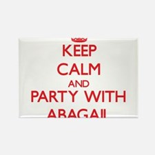 Keep Calm and Party with Abagail Magnets