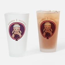 womb-tennis-DKT Drinking Glass