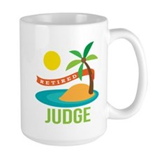 Retired Judge Mug