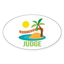Retired Judge Decal