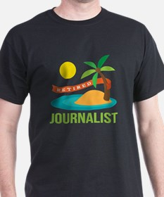 Retired Journalist T-Shirt