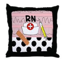 RN blanket Throw Pillow