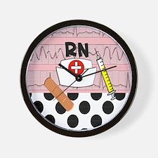 RN blanket Wall Clock