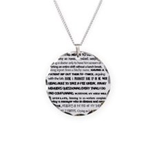 What nursing means to me Necklace