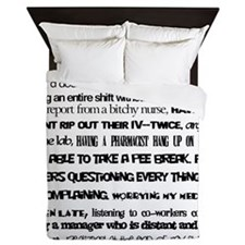 What nursing means to me Queen Duvet