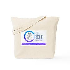 Full Circle Farm Sanctuary Logo Tote Bag