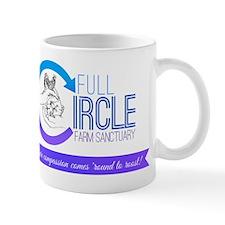 Full Circle Farm Sanctuary Logo Mugs