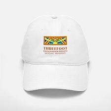 Threefoot Preservation Society Motif Baseball Baseball Baseball Cap