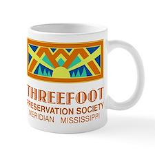 Threefoot Preservation Society Motif Mugs