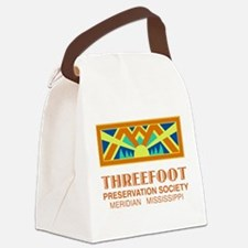 Threefoot Preservation Society Motif Canvas Lunch