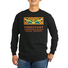 Threefoot Preservation Society Motif Long Sleeve T