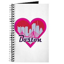 Boston Skyline Heart Journal