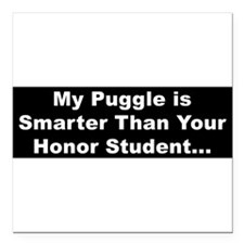 """Cute Www.pugglestore.com Square Car Magnet 3"""" x 3"""""""