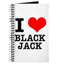 I Heart (Love) Blackjack Journal