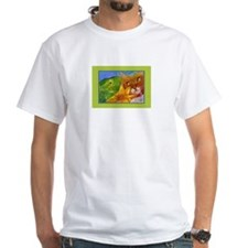 Cat Sees Frog Shirt
