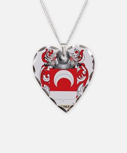 Luna Coat of Arms - Family Cr Necklace