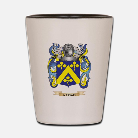 Lynch Coat of Arms - Family Crest Shot Glass