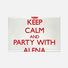 Keep Calm and Party with Alena Magnets