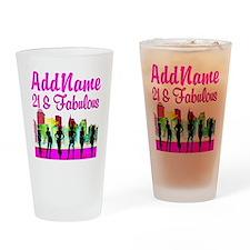 21ST NEW YORK Drinking Glass
