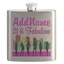 21ST NEW YORK Flask