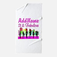 21ST NEW YORK Beach Towel