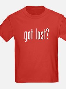 got lost? T