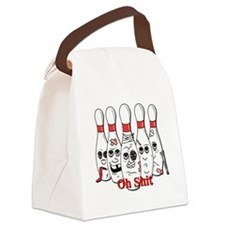 Bowling pins Canvas Lunch Bag