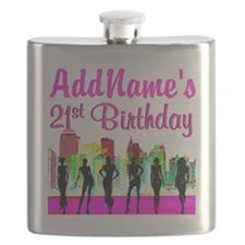 CHARMING 21ST Flask