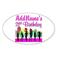 CHARMING 21ST Decal