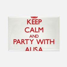 Keep Calm and Party with Alisa Magnets