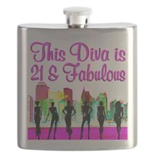 FABULOUS 21ST Flask