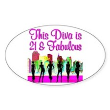 FABULOUS 21ST Decal