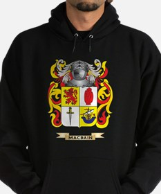 MacBain Coat of Arms - Family Crest Hoodie (dark)