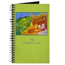 Cat Sees Frog Journal