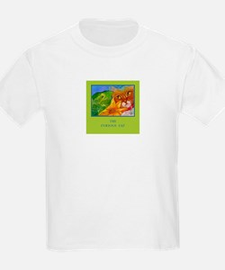 Cat Sees Frog T-Shirt