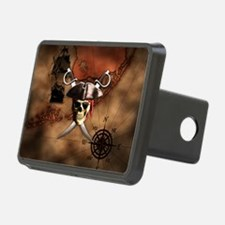 Pirate Map Hitch Cover